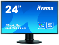"iiyama ProLite XB2481HS-B1 23.6"" Full HD VA Opaco Nero monitor piatto per PC LED display"