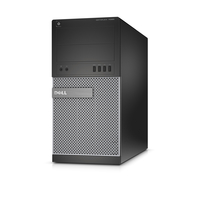 DELL OptiPlex 7020 3.3GHz i5-4590 Mini Tower Nero, Argento PC