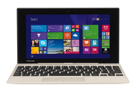 "Toshiba Satellite Click Mini L9W-B-100 1.33GHz Z3735F 8.9"" 1920 x 1200Pixel Touch screen Oro Ibrido (2 in 1)"