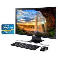 "Samsung ATIV One 7 Curved DP700A7K 2.2GHz i5-5200U 27"" 1920 x 1080Pixel Nero PC All-in-one"