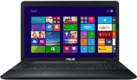 "ASUS F751MA-TY258H 2.16GHz N2840 17.3"" 1600 x 900Pixel Nero Computer portatile"