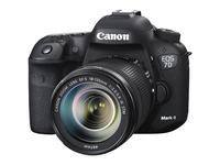 Canon EOS 7D Mark II + EF-S 18-135mm IS STM Kit fotocamere SLR 20.2MP CMOS 5472 x 3648Pixel Nero