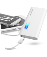 Cellularline Freepower Multi 10000 For Tablets - Universale Caricabatterie portatile innovativo ed evoluto con carica veloce Bianco