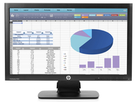 "HP ProDisplay P202 20"" TN Nero monitor piatto per PC"