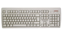HP 269513-031 PS/2 QWERTY Inglese UK Bianco tastiera