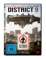 Sony District 9 DVD 2D Tedesca, Inglese