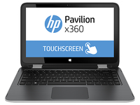 "HP Pavilion x360 13-a221nw 2.2GHz i5-5200U 13.3"" 1366 x 768Pixel Touch screen Argento Ibrido (2 in 1)"
