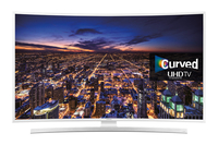 "Samsung UE55JU6510U 55"" 4K Ultra HD Compatibilità 3D Smart TV Wi-Fi Bianco LED TV"