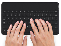 Logitech Keys-To-Go Bluetooth QWERTY Italiano Nero tastiera per dispositivo mobile