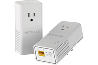 Netgear PLP1200 1200Mbit/s Ethernet LAN White 2pc(s) PowerLine network adapter