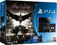 Sony PlayStation 4 500GB + Batman Arkham Knight 500GB Wi-Fi Nero