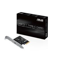 ASUS USB 3.1 TYPE-C CARD Interno USB 3.1 scheda di interfaccia e adattatore