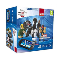 "Sony PlayStation Vita + Disney Infinity 5"" Touch screen Wi-Fi Nero console da gioco portatile"
