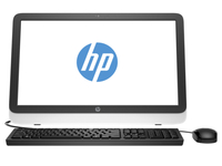 "HP 23-r010 2.9GHz G3260T 23"" 1920 x 1080Pixel Nero, Bianco PC All-in-one"