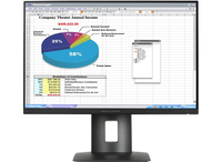"HP Z24n 24"" IPS Opaco Nero monitor piatto per PC"