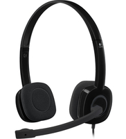Logitech H151 Headset Head-band Black 3.5 mm connector