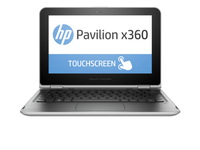 "HP Pavilion x360 11-k000nf 1.6GHz N3050 11.6"" 1366 x 768Pixel Touch screen Argento Ibrido (2 in 1)"