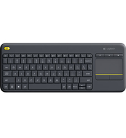 Logitech K400 Plus RF Wireless QWERTY Ungherese Nero tastiera
