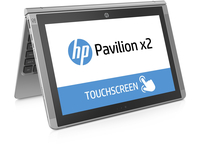 "HP Pavilion x2 10-n000na 1.33GHz Z3736F 10.1"" 1280 x 800Pixel Touch screen Argento Ibrido (2 in 1)"