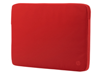 "HP 39.62 cm (15.6"") Spectrum Red Sleeve 15.6"" Custodia a tasca Rosso"
