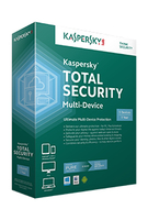 Kaspersky Lab Total Security, Multi-Device, 3 U, 1 Y, Upd, DE