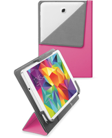 "Cellularline Flexy - Samsung Fino a 8"" Custodia per tablet con retro pieghevole Rosa"