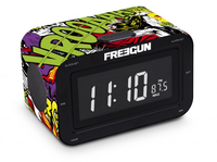 Bigben Interactive RR30 - Freegun Orologio Digitale Nero, Verde, Multicolore radio