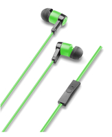 Cellularline Clear Voice Stereo In Ear - Universale Cuffie stereo in-ear per ascoltare la musica e conversare in libert? Verde