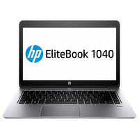 "HP EliteBook Folio 1040 G2 2.6GHz i7-5600U 14"" 1920 x 1080Pixel Touch screen 3G 4G Nero, Argento Computer portatile"