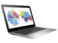 "HP EliteBook Folio 1020 G1 1.2GHz M-5Y71 12.5"" 2560 x 1440Pixel Touch screen Nero, Argento Computer portatile"