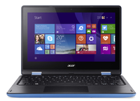 "Acer Aspire R 11 R3-131T-C122 1.6GHz N3050 11.6"" 1366 x 768Pixel Touch screen Nero, Blu Ibrido (2 in 1)"