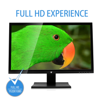 "V7 L27000WHS 27"" Full HD LED Monitor 16:9 - pannello in vetro lucido"