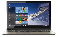 "Toshiba Satellite Fusion 15 L55W-C5252 2.1GHz i3-5015U 15.6"" 1366 x 768Pixel Touch screen Nero, Oro Ibrido (2 in 1)"