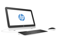 "HP 20-r040d 1.6GHz N3050 19.45"" 1600 x 900Pixel Bianco PC All-in-one"