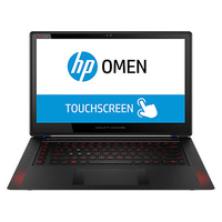 "HP OMEN 15-5117tx 2.6GHz i7-4720HQ 15.6"" 1920 x 1080Pixel Touch screen Nero Computer portatile"