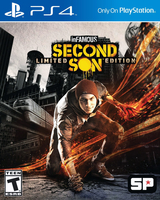 Sony inFAMOUS Second Son, Playstation 4 Basic PlayStation 4 Inglese videogioco