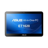 "ASUS ET ET1620IUTT-B010 2GHz J1900 15.6"" 1366 x 768Pixel Touch screen Nero PC All-in-one"