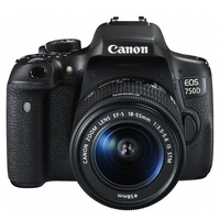Canon EOS 750D + 18-55mm IS STM + JOBY STRAP Kit fotocamere SLR 24.2MP CMOS 6000 x 4000Pixel Nero