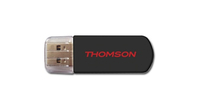 Thomson PRIMOUSB-64B 64GB USB 2.0 Tipo-A Nero unità flash USB