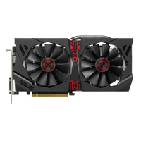ASUS STRIX-R9380-DC2OC-2GD5-GAMING Radeon R9 380 2GB GDDR5