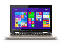 "Toshiba Satellite Radius 11 L15W-B1302 2.16GHz N2840 11.6"" 1366 x 768Pixel Touch screen Oro Ibrido (2 in 1)"