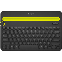 Logitech K480 Bluetooth QWERTY Nero tastiera per dispositivo mobile