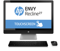 "HP ENVY Recline 27-k416nb 2.7GHz i7-4790T 27"" 1920 x 1080Pixel Touch screen Argento PC All-in-one"