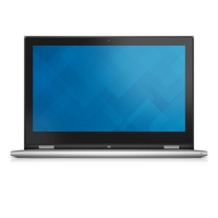 "DELL Inspiron 7348 2.4GHz i7-5500U 13.3"" 1920 x 1080Pixel Touch screen Argento Ibrido (2 in 1)"