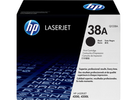 HP 38A Black Original LaserJet Toner Cartridge 12000pagine Nero