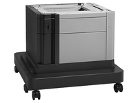 HP LaserJet 1x500-sheet Paper Feeder and Cabinet Nero, Grigio porta stampante