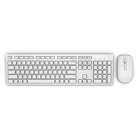 DELL KM636 RF Wireless AZERTY Francese Bianco tastiera