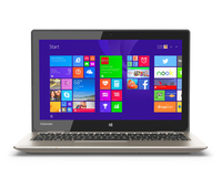 "Toshiba Satellite CL15T-B1204 2.16GHz N2840 11.6"" 1366 x 768Pixel Touch screen Oro Computer portatile"