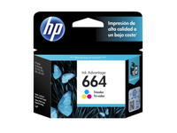 HP 664 Tri-color Original Ink Advantage Cartridge 100ml Ciano, Giallo cartuccia d