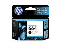 HP 664 Black Original Ink Advantage Cartridge 120pagine Nero cartuccia d